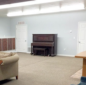 Bear Lake Ranch House | Conference Room Piano